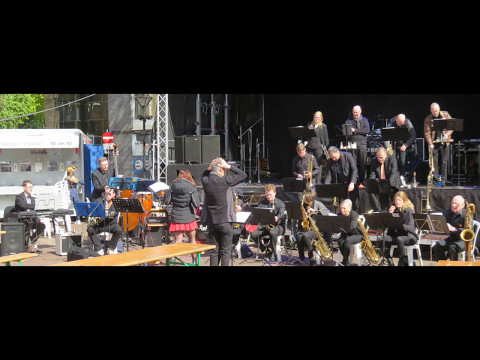 Late in the evening (latin pop 125 bpm) Big Band concert
