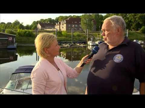 Elbe Niedrigwasser 2018 bei Doemitz