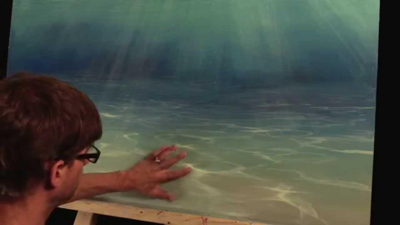 Painting The Sea Floor Mural Joe YouTube - Ocean floor painting