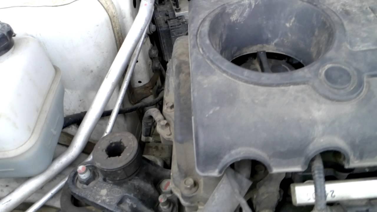 hyundai ix35 стук в двигателе