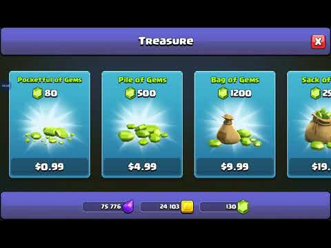 How To Turn Your Elixer And Gold Into GEMS!-Clash Of Clans
