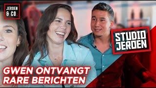 Gwen van Poorten krijgt GELD aangeboden van VREEMDE MANNEN? - STUDIO JEROEN #9
