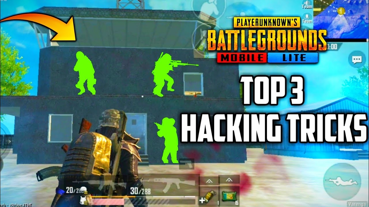 TOP 3 HACKING TIPS AND TRICKS IN PUBG MOBILE LITE | TIPS AND TRICKS ABOUT PUBG MOBILE LITE