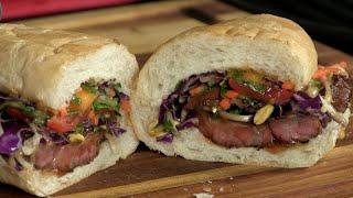 Thai Inspired Beef Short Rib Sandwich! (video Recipe)