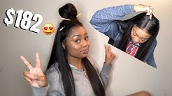 AFFORDABLE BRAZILIAN BODYWAVE PRE PLUCKED LACE FRONT WIG | FT ALIPEARL HAIR