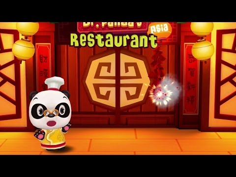 Dr. Panda's Asia Restaurant (2015) - Top Free Apps For Kids