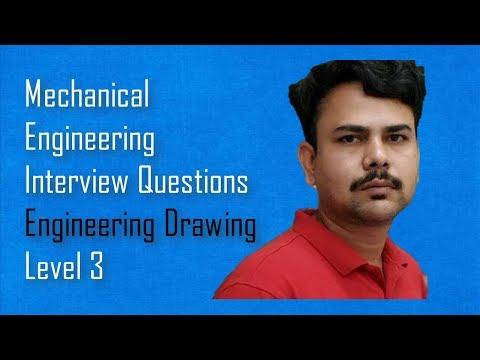 Engineering Drawing -Mechanical Engineering Questions,Dimu's Tutorials