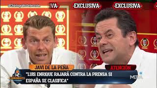 🧨🧨BRUTAL CARA a CARA entre RONCERO y JOTA por ESPAÑA