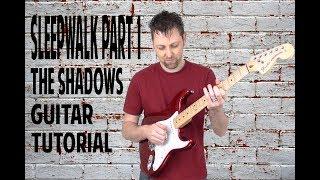 Sleepwalk Shadows Guitar Tutorial Part 1- with Ken Mercer + Free BT
