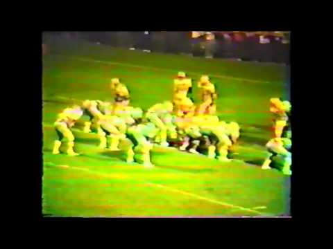 Jonesville High School vs Powell Valley Goaline Stand 1985