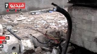 حرق 10 محولات كهرباء وأتوبيسين وتفجير خط غاز رئيسي في ذكري ثورة يناير بالشرقية