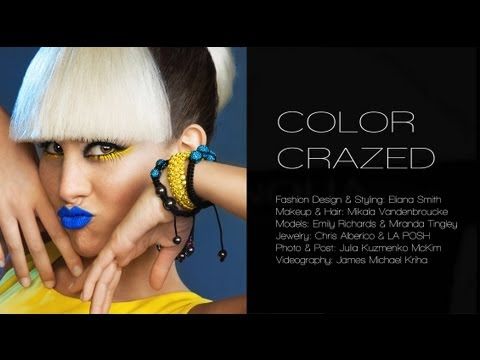 Color Crazed | BTS | Fashion Editorial...