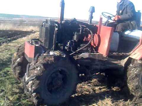 Как завести Трактор Беларус 82.1, Видео, Смотреть онлайн