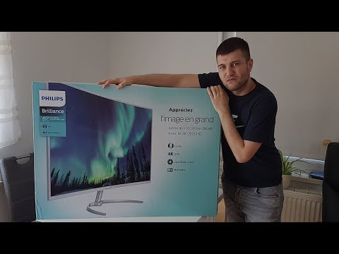 "Novi monitor od 40 Inca - Philips 4K Curved 40"" Review"