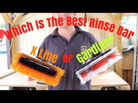 Rinse Bar Comparison Gardiner Vs X Line