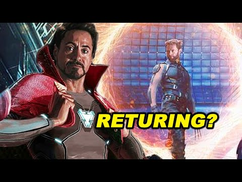 IRON MAN Returns And X-Men In Doctor Strange 2 Multiverse Of Madness?