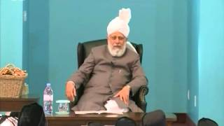 Gulshan-e-Waqfe Nau Atfal Canada, 12 July 2012, Educational class with Hadhrat Mirza Masroor Ahmad