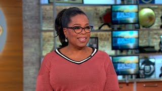 Oprah Winfrey on who she channeled for her