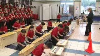 Spring ISD - The Jenkins Orff Ensemble Performs for Music Educators in San Antonio