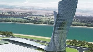 The Most Inclined Building In The World / Capital Gate / Dubai - Abu Dhabi