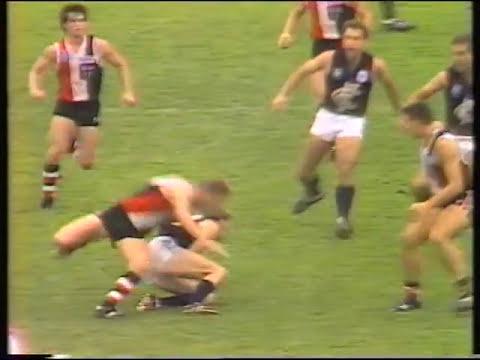 StKilda vs Carlton rd 2  1989 Sportsworld panel review