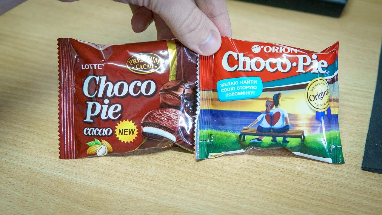 Orion Choco Pie Vs Lotte Marshmallow 168g Recipe 5