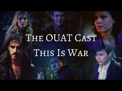 Emma, Charming, Snow, Hook, Regina,Rumpel and Pan  This is War