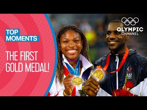 Olympic Legends When They Won Their FIRST Gold Medals | Top Moments