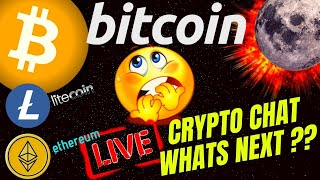 LIVE DISCUSSION bitcoin litecoin ethereum price prediction, analysis, news, trading