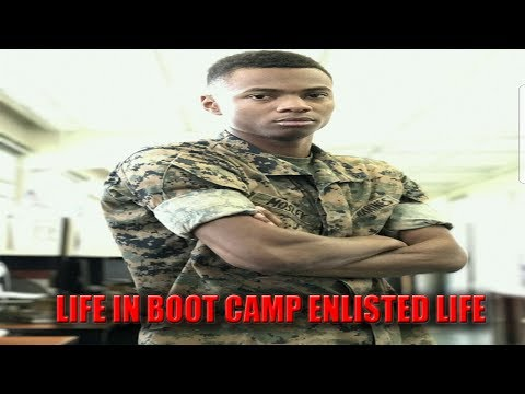 Life In Boot Camp Enlisted Marine