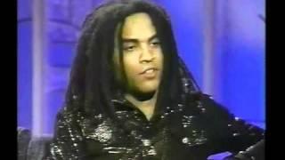 Lenny Kravitz w/ Arsenio 1991 Video