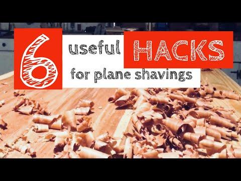 Useful Hacks for Wood Plane Shavings | Hand-Tool Woodworking Tips