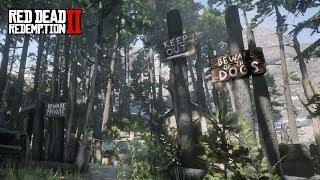 La casa de la bruja en Red Dead Redemption 2 - Jeshua Games Video