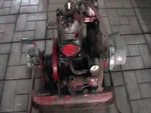 разбираем пожарную помпу МП600