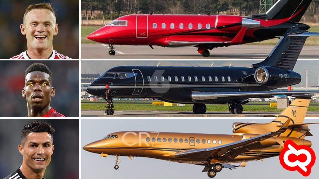 Ini Baru Atlet Sultan! Pesepakbola Dunia yang Memiliki Pesawat Jet Pribadi. Punya Siapa Termahal?