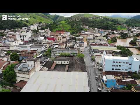Enchente Bom Jesus do Itabapoana-RJ e B. J. do Norte-ES (Janeiro 2020): VOANDO C/ DRONE.
