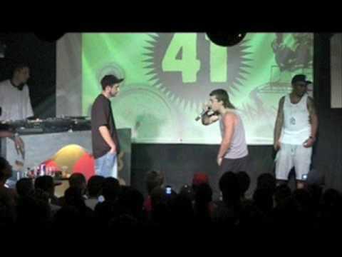 Aldo Ranks vs.Toby King - en Tarima- Man To Man -Reggae 90's- Parte 1