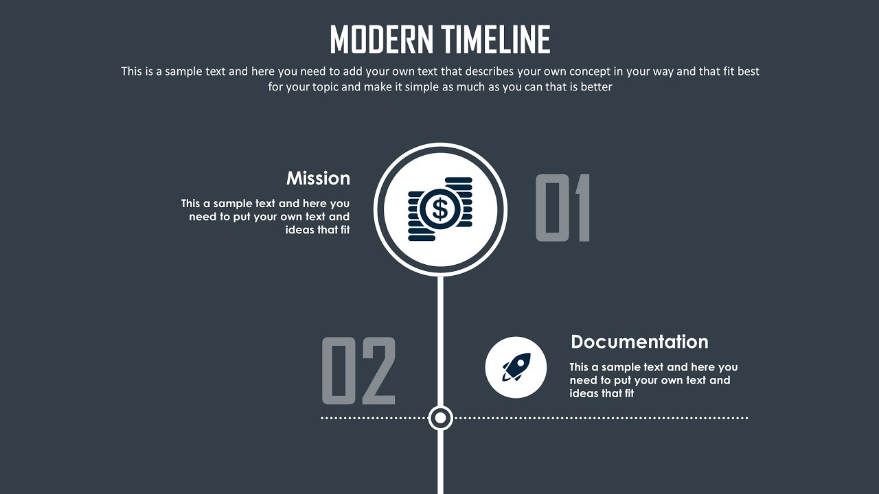 powerpoint timeline slide design tutorial youtube