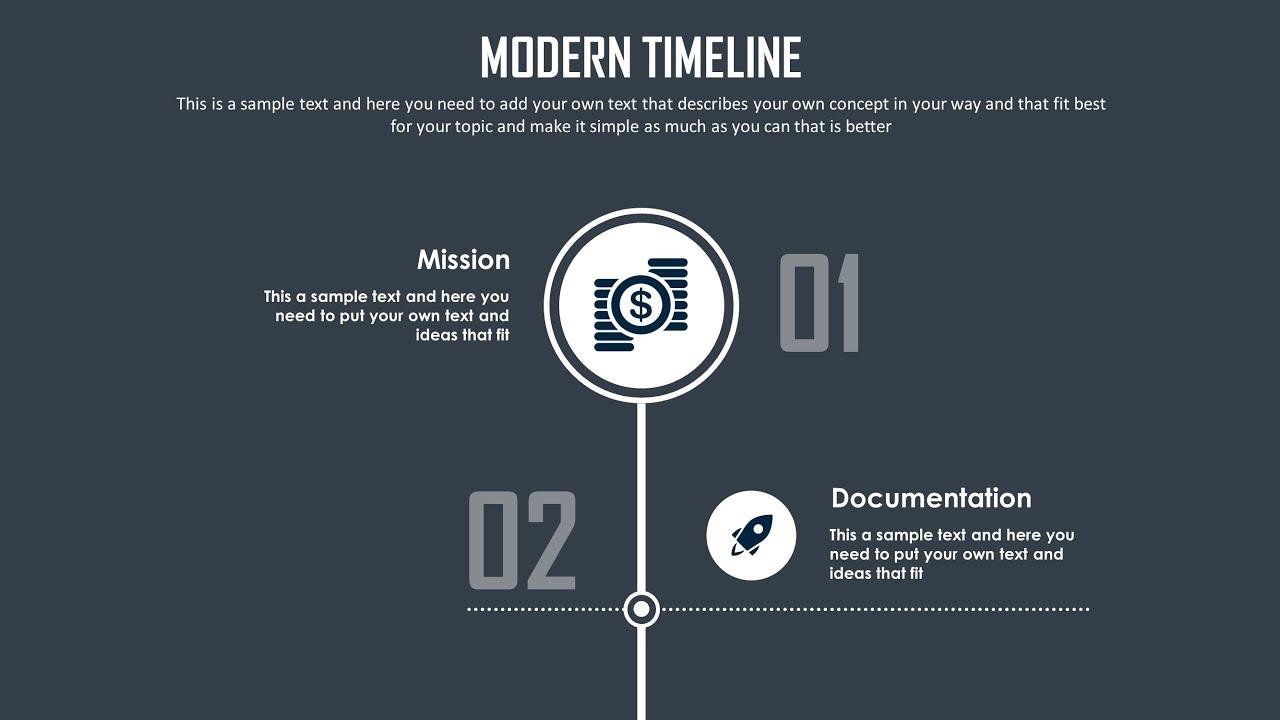 Powerpoint Timeline Slide Design Tutorial