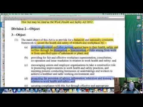 WHS Law Case Study 1