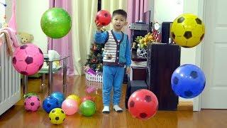 Xavi ABCKids 😜 ⚽ #07 | Catch the ball challenge