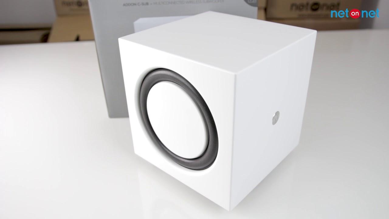 NetOnNet  Audio Pro Addon C-Sub White - YouTube 6ed54f76f73cd