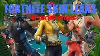 Fortnite BR Leaks- Season 5 Skins leaks (first video)
