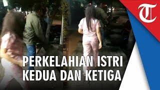 Video Viral Istri Kedua dan Ketiga Kades Berkelahi di Depan Umum, Bahkan Suami Susah Melerainya
