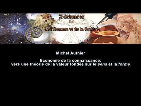 X-SHS - Michel Authier - Economie de la connaissance