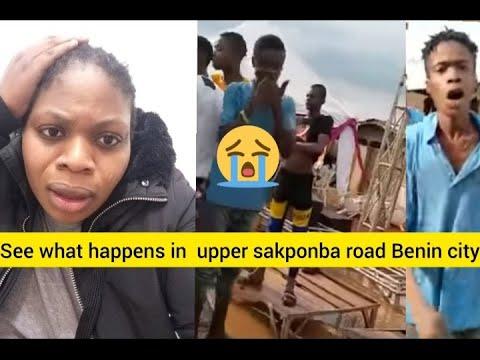 Download See what happens in Upper sakponba Road benin city