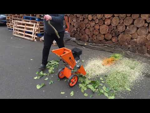 Mulching Laurel, Vegetables and Wood with FM6DD-MUL 3-in-1