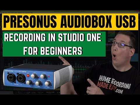 presonus-audiobox-usb-|-how-to-get-started-|-for-beginners