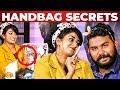 NAIL POLISH Godown Inside Vijay TV Rhema Ashok's Handbag | What's Inside the HANDBAG | Vj Ashiq