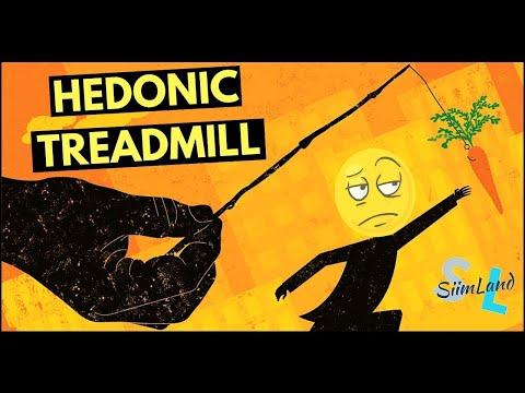 Hedonic adaptation (treadmill) theory by Brickman and Campbell explained